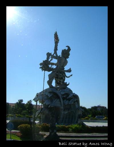 Bali God Statue