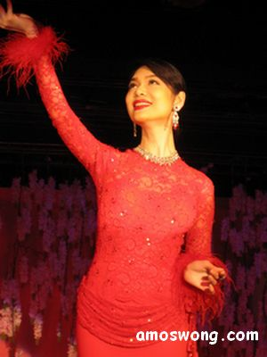 Ladyboys of Bangkok Performing in Calypso Cabaret, Bangkok