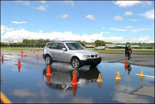 Driving Test on a BMW X5